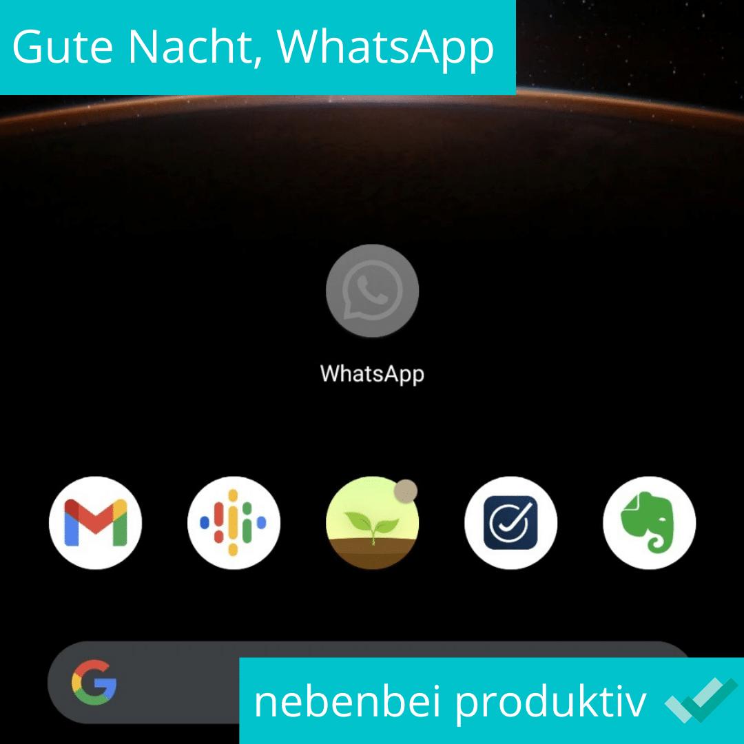 Gute Nacht WhatsApp