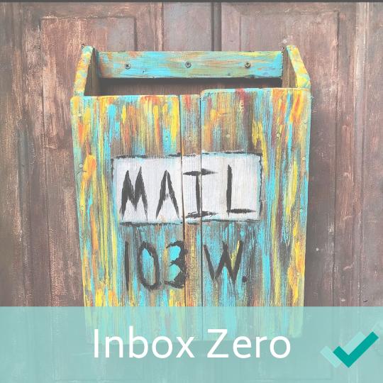 Inbox so gut wie zero